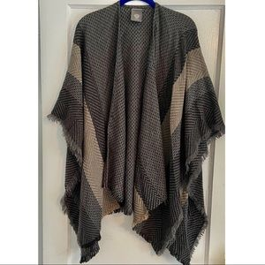 Vince Camuto Open Front Shawl Poncho